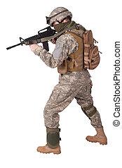 os, soldat, handling
