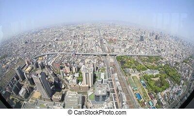 Osaka aerial view