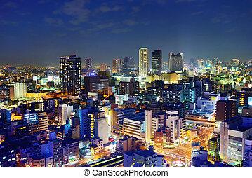Osaka Business Park - A business park in Naniwa Ward, Osaka...