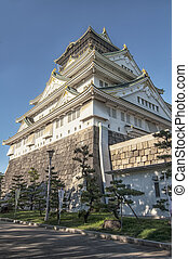 Osaka Castle, Japan.