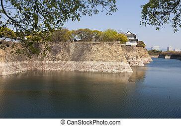 Osaka Castle moat