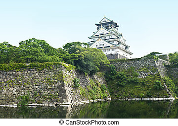 Osaka Castle - Reconstruction of a great castle of famous ...