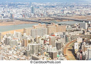Osaka Cityscape Japan