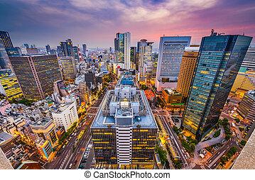 Osaka, Japan Cityscape