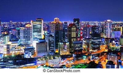 Osaka Japan Time Lapse