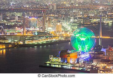 Osaka night Japan