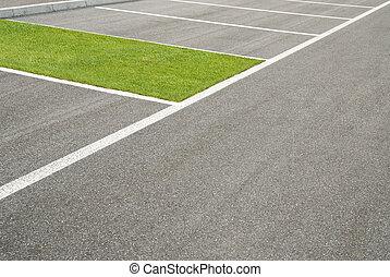 osasis, estacionamento
