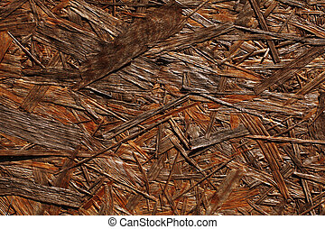 OSB wood background