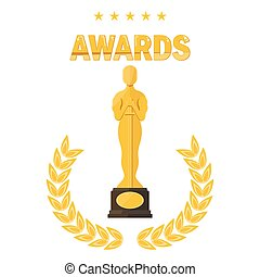 oscar film festival awards - Statuette Award Festival Oscar...