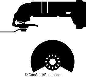 Oscillating tool, shade picture