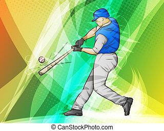 oscillazione baseball