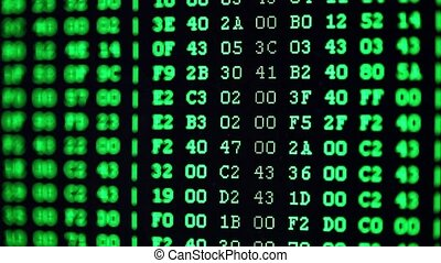 Oscillogram on PC screen