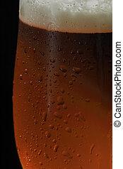 oscuridad, cerveza