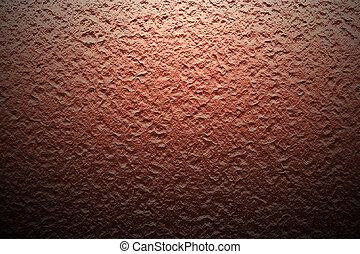 oscuridad, luz, shadow., pared, roca