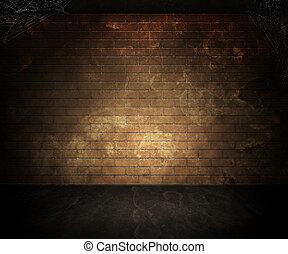 oscuridad, sótano, plano de fondo