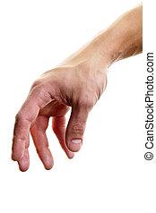 osiąganie, ręka