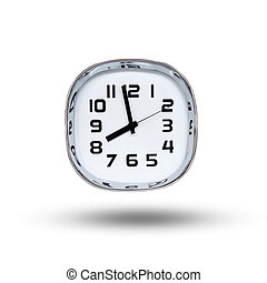 osiem, o'clock