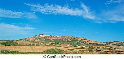 osilo under a blue sky