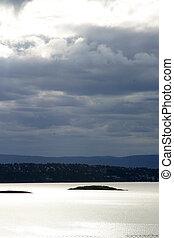 Oslo fjord - Oslo Fjord in early summer viewed form Ljan ...
