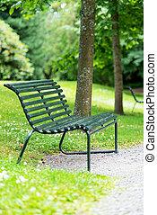 oslo, giardino botanico, norvegia, panca