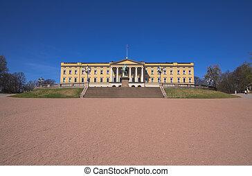 oslo, królewski pałac