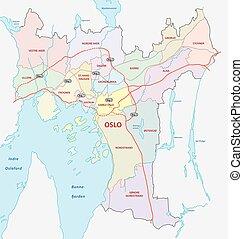 oslo neighborhood map