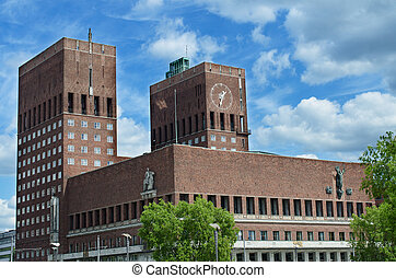 Oslo City Hall or Radhuset