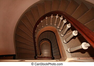 oslo, treppenaufgang