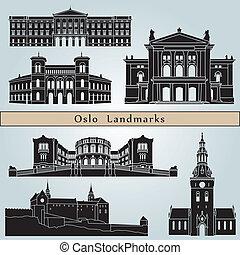 oslo, wahrzeichen, denkmäler