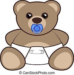 oso del bebé