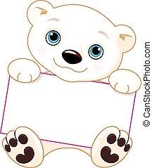 oso polar, señal