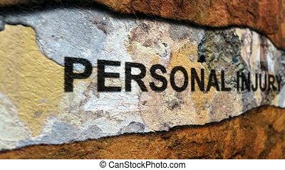 osobisty, żądanie, krzywda