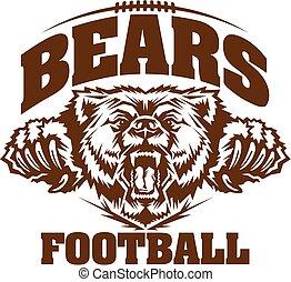 osos, fútbol