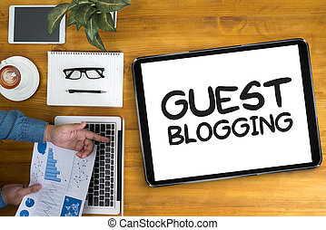 ospite, blogging