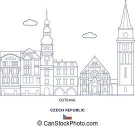 Osrtava City Skyline, Czech Republic - Osrtava Linear City...