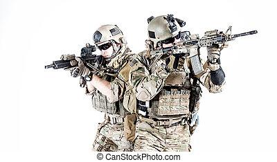 oss armé, skogvaktare