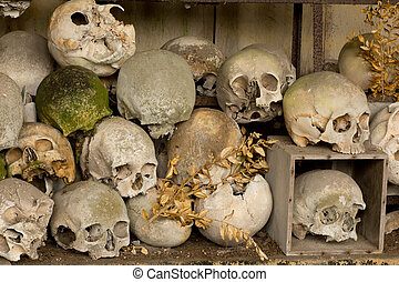 Ossuary of Marville in France