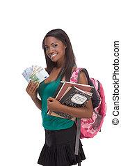 ost, de, educação, empréstimo estudante, e, ajuda financeira