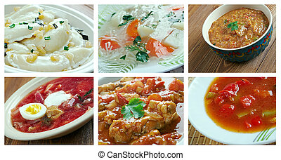 ost, europeo, cuisine., -