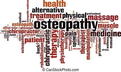 Osteopathy word cloud.eps - word, cloud, tag, word cloud,...