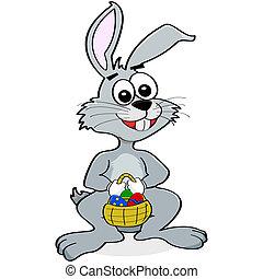 bleistift skizze ostereier kaninchen eps vektor suche clipart illustration zeichnung und. Black Bedroom Furniture Sets. Home Design Ideas
