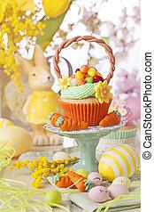 ostern, cupcake