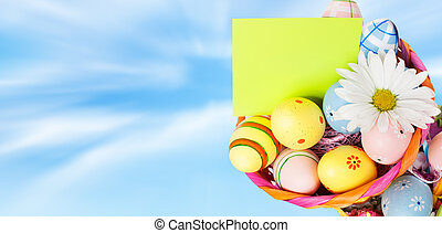 ostern, eggs.