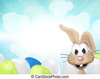 ostern, sonnig, kaninchen