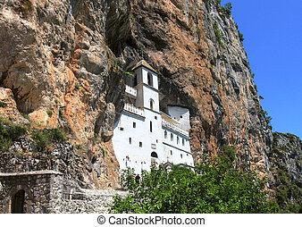 ostrog, montenegro, monasterio, ortodoxo