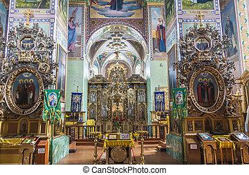 Ostroh orthodox Monastety - Ukraine. - OSTROH, UKRAINE - 26 ...