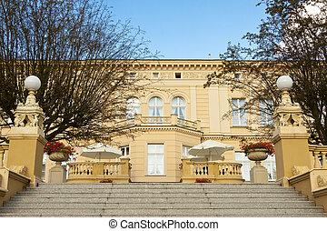 Ostromecko palace - Poland.