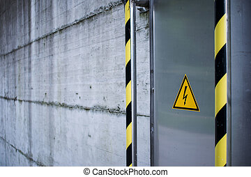 ostrzeżenie, elektryczność