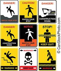 ostrzeżenie sygnuje