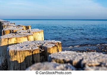 Ostseestrand Buhnen - börgerende